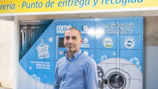 Juan Manuel Ríos, gerente de ROME Tintorería