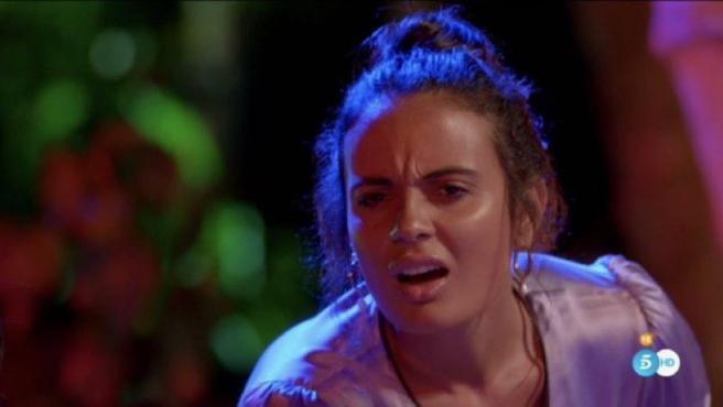 Lara en 'La isla de las tentaciones'.