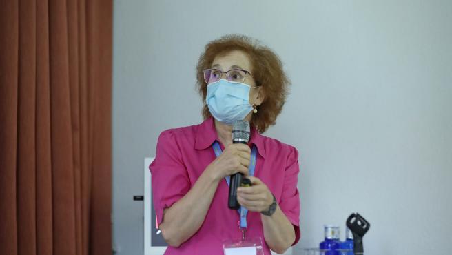 La investigadora del Centro de Biología Molecular Severo Ochoa-CSIC Margarita del Val.