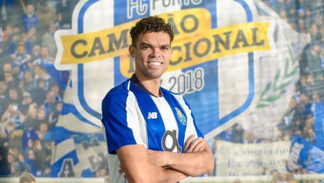Pepe, jugador del Oporto
