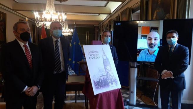 Presentación del cartel de Semana Santa de Oviedo