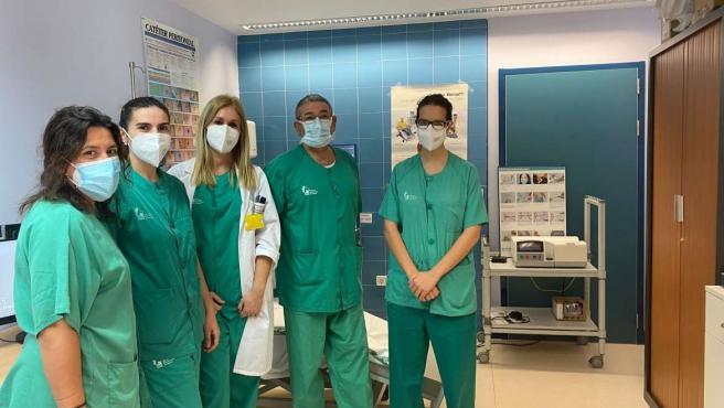 Profesionales en el Área de Salud de Plasencia