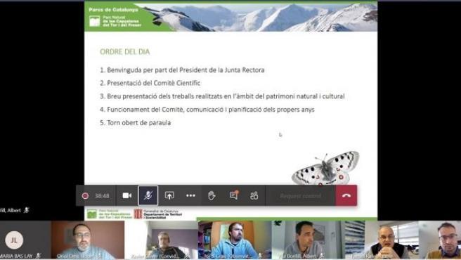 Reunión telemática del comité científico asesor del Parc Natural de les Capçaleres del Ter i el Freser (Girona)