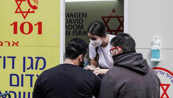 Vacunación en Israel.