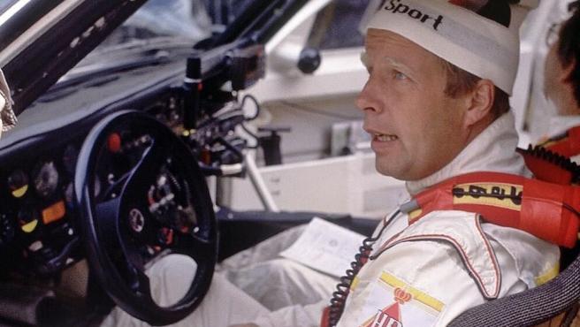 El piloto Hannu Mikkola.