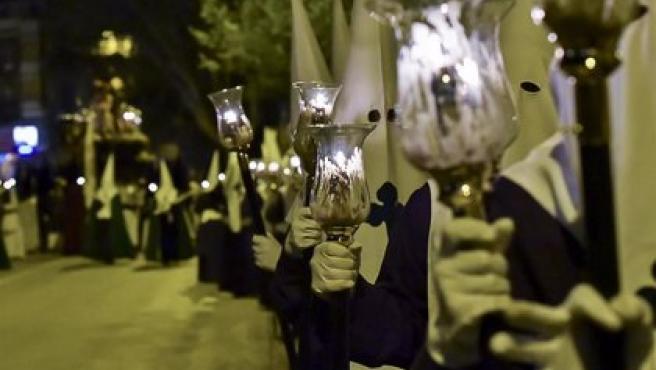 Imagen de archivo de la Semana Santa en Cuenca.