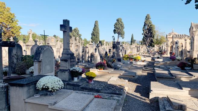 Imagen de archivo de un cementerio.