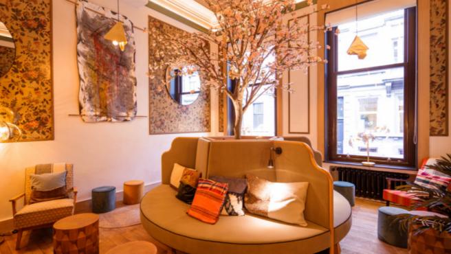 Interior de uno de los pisos de Cohabs en Bruselas.
