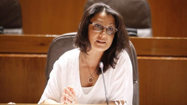 La portavoz de Ciudadanos en Ciudadanía y Derechos Sociales, Loreto Camañes.