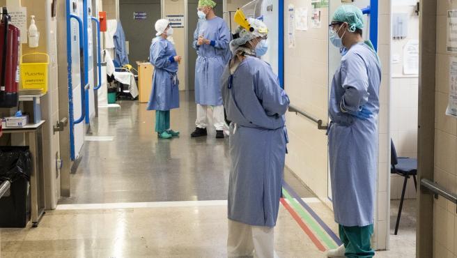 Archivo - Urgencias, coronavirus, planta hospital, pandemia.