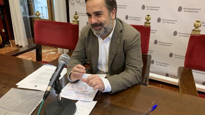 El concejal del PSOE Jacobo Calvo.