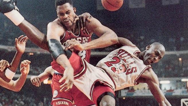 Rick Mahorn nunca tuvo piedad de Michael Jordan.