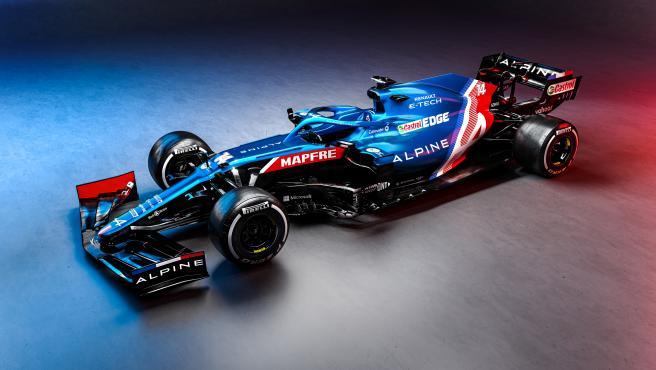 Alpine A521, el nuevo coche de Fernando Alonso y Esteban Ocon