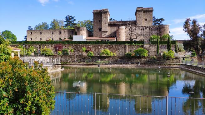 Castillo Palacio de los Condes de Oropesa, en Jarandilla de la Vera, en Cáceres.