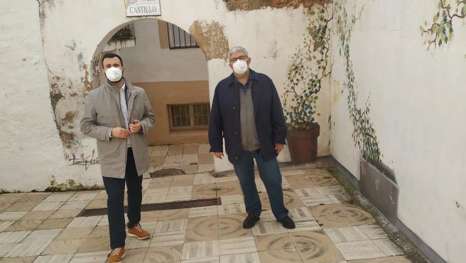 Comienzan las obras para recuperar la calle Castillo de Cáceres, que lucirá nueva imagen en tres meses
