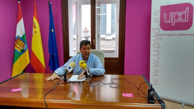 El exdirigente de UPyD, Emilio Sáez de Guinoa ahora integrado en'La Rioja en marcha'l