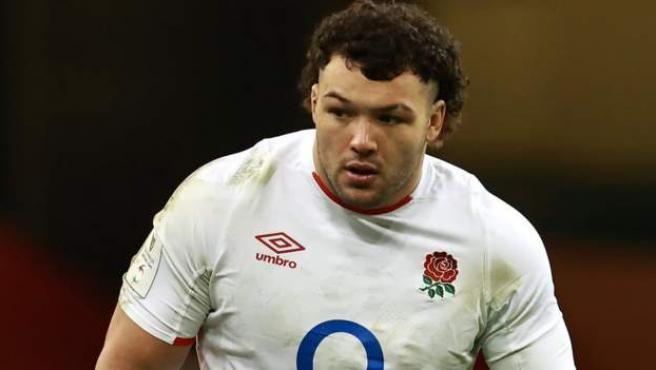 Ellis Genge, jugador de rugby de la selección de Inglaterra.