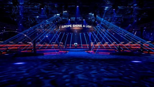 Escenario del Festival de Eurovisión 2020.