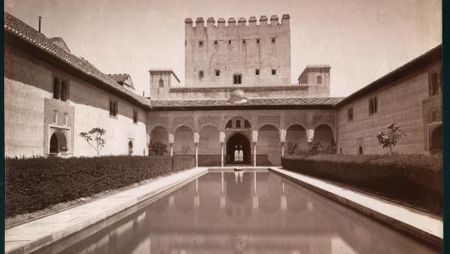 Imagen de la Alhambra tomada por Laurent.