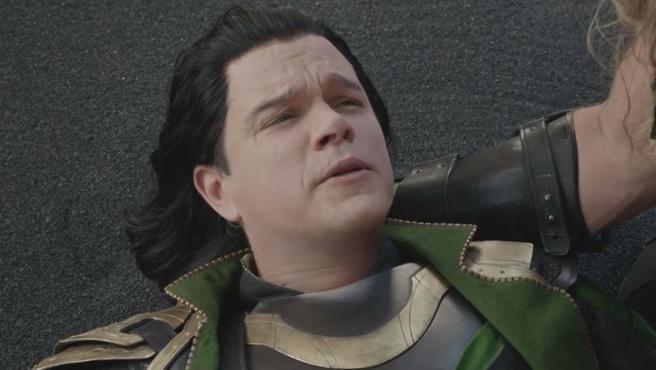 Matt Damon en 'Thor: Ragnarok'.