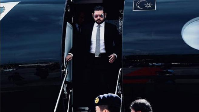 Príncipe de Johor.