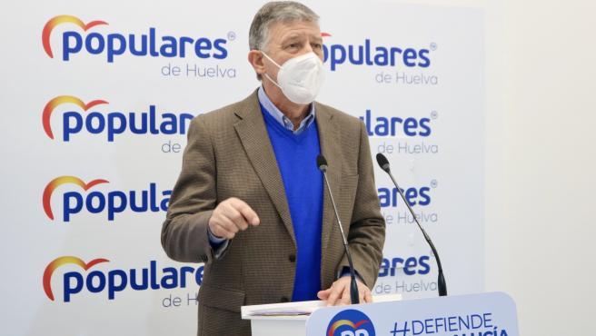 El diputado nacional del PP de Huelva, Carmelo Romero.