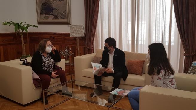 Encuentro con responsables de la Asociación Lupus Jaén.
