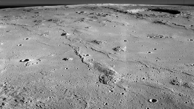 Marius Crater Hills NASA