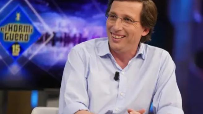 El alcalde de Madrid, José Luis Martínez-Almeida, en 'El Hormiguero'.