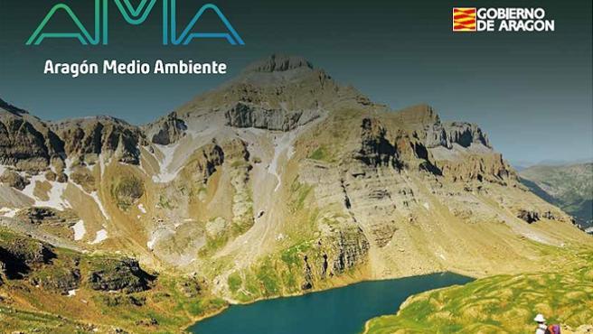 Portada del Boletín Aragón Medio Ambiente