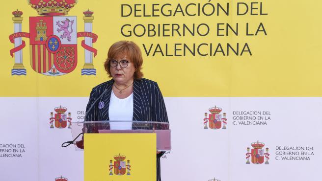 Archivo - La delegada del Gobierno en la Comunidad Valenciana, Gloria Calero, en imagen de archivo