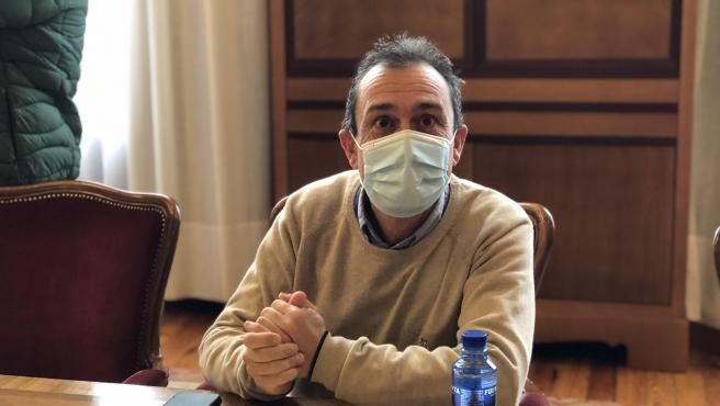 El diputado de IU en la Junta General del Principado, Ovidio Zapico.