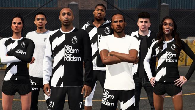 No Room For Racism en el FIFA21.