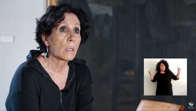Isabel Campón protagoniza un vídeo de la Diputación de Cáceres con motivo del 8M