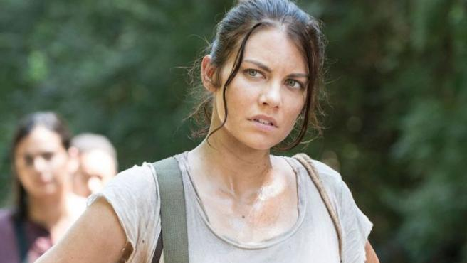 Lauren Cohan en 'The Walking Dead'.