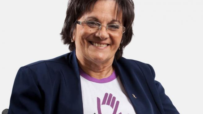 María Da Penha, víctima de violencia de género y activista por los derechos de la mujer en Brasil.