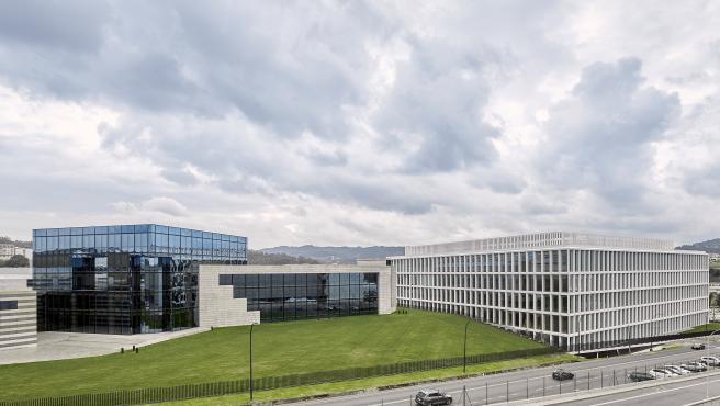 Nuevo edificio de Zara en Arteixo, A Coruña.