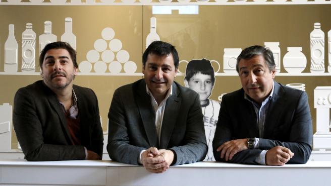 Joan, Josep y Jordi Roca, propietarios del restaurante 'El Celler de Can Roca'.