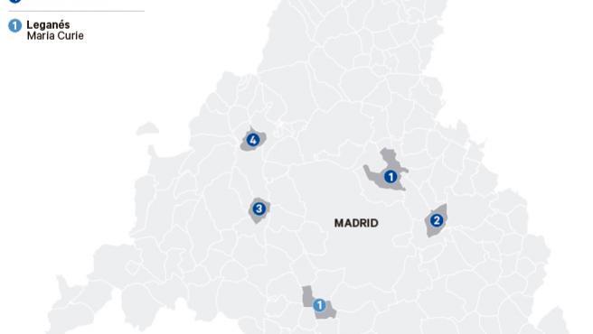 Restricciones por Covid en Madrid.