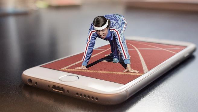 El deporte se ha terminado adaptando a nuestros móviles.