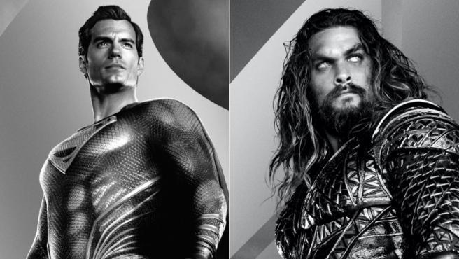 Henry Cavill y Jason Momoa como Superman y Aquaman