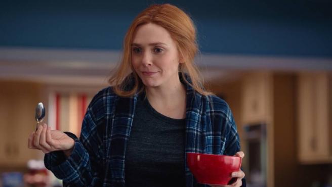 Elizabeth Olsen en 'Bruja Escarlata y Visión'