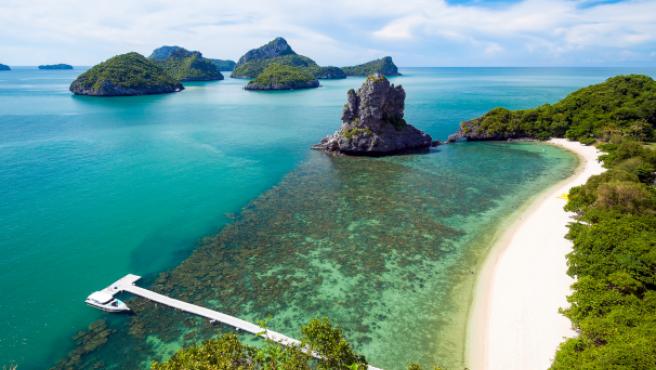 Ko Samui (Tailandia) es uno de los mejores lugares para jubilarse en el extranjero.
