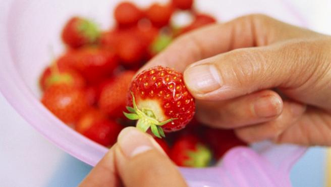 Método para conservar fresas