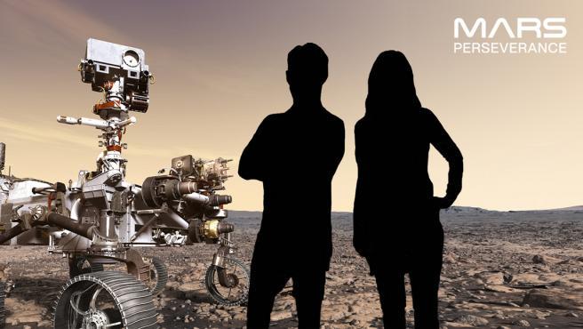 Este es alguno de los fondos disponibles para tus fotos en Marte.