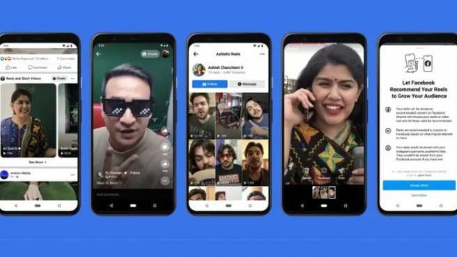 'Reels from Facebook' se presenta como función que pretende atraer a más usuarios a la aplicación.