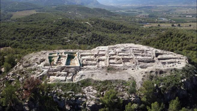 La Almoloya, Murcia, hogar de El Argar, una de las primeras sociedades en utilizar bronce.