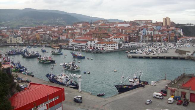 Vista general de Bermeo, en Vizcaya.