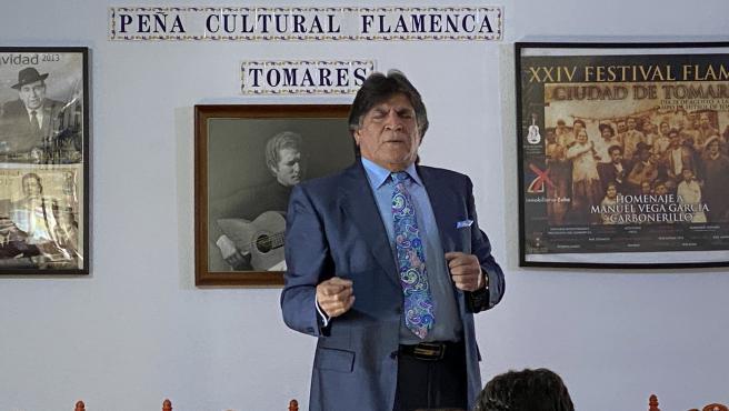 El cantaor Vicente Soto abre las III Jornadas Culturales Flamencas de Tomares