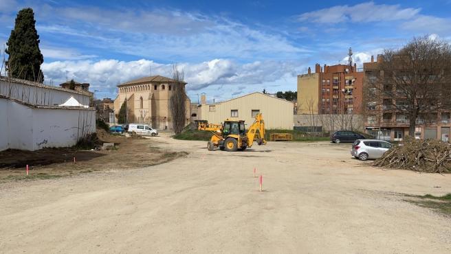 Comienzan las obras del 'Parque del Recuerdo y de la Memoria' de Barbastro